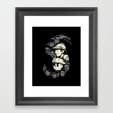 Holmes and Watsons Framed Art Print
