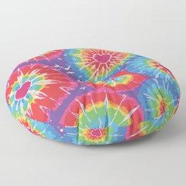 Love Tye Dye Floor Pillow