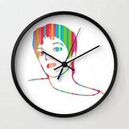 Liza Minnelli   Pop Art Wall Clock