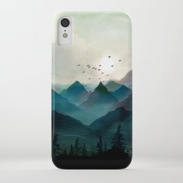 Mountain Sunrise II iPhone Case