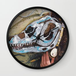 Bear Bones Wall Clock