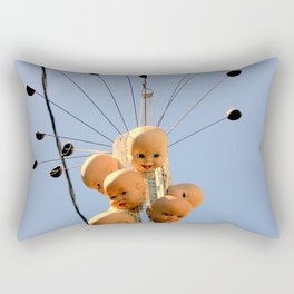 These Dolls Gave Great Head-s Rectangular Pillow