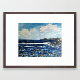Return to the paradise Framed Art Print