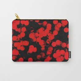 Red Dots Pattern Carry-All Pouch