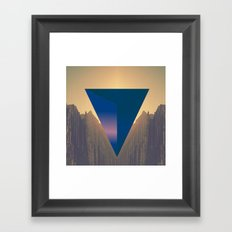 Huasteca 2nd cut Framed Art Print
