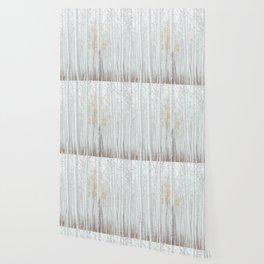 White tree forest Wallpaper