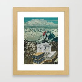 Hills and Valleys: prepping for the future Framed Art Print