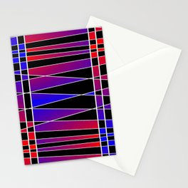 Art Deco 'Fractured' Stationery Cards