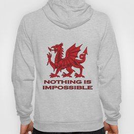 Nothing Is Impossible Red Dragon Hoody