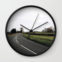 British countryside Wall Clock