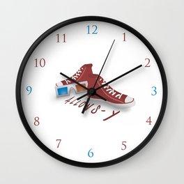 Allons-y! Wall Clock