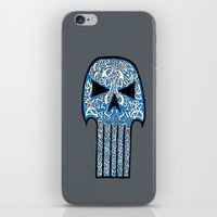 celtic iPhone & iPod Skins featuring Celtic Punisher by ronnie mcneil