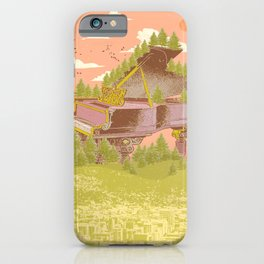 FOREST PIANO iPhone Case
