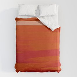 Sunset (Red) Duvet Cover