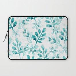Watercolor Floral VV Laptop Sleeve
