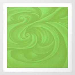 lime green Art Print
