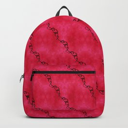Red Ribbon Backpack