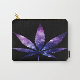 Weed : High Times purple blue Galaxy Carry-All Pouch