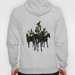 Cats on Wolfes on Horses // Des chats sur des loups sur des chevaux // Geoffroy MONDE Hoody