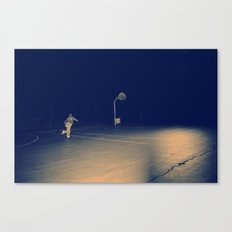 The Skateboarder Canvas Print