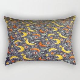 Arcade Carpet #9 - Moons Rectangular Pillow