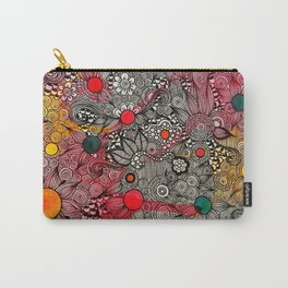 Full Page Doodling Pattern  Carry-All Pouch