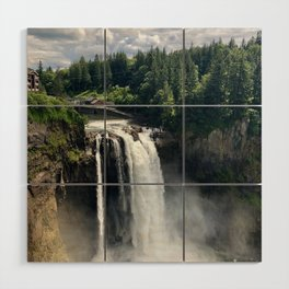 Over the Falls Wood Wall Art