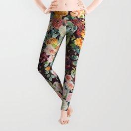 Fall Floral Leggings