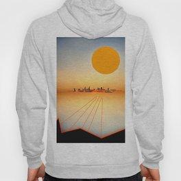 Horizon Sunset Orange Blue Hoody