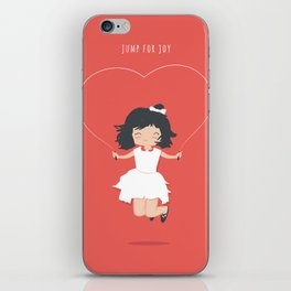Jump for Joy iPhone Skin