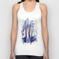 sail Tank Tops featuring Sail Movements by taiche