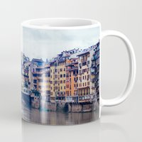 florence Mugs featuring Florence by Kassie Jackson