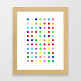 Halazepam Framed Art Print