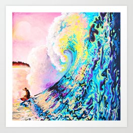 Surf Candy Art Print