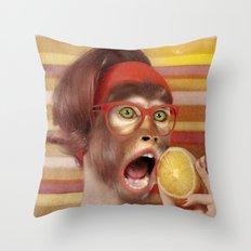 I LOVE LEMONS Throw Pillow