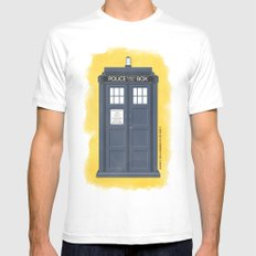 9th Doctor - DOCTOR WHO Mens Fitted Tee MEDIUM White