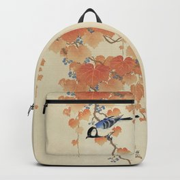 The bird and the leaves Backpack