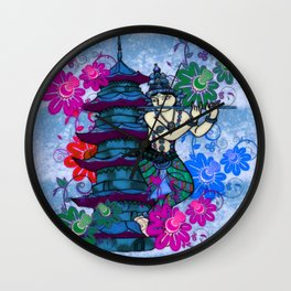 Krishna Rising Wall Clock