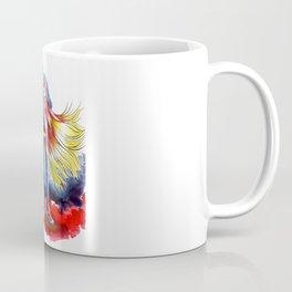 Cherry Blonde Heroine Coffee Mug