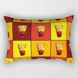 Ice Cold Drink Rectangular Pillow