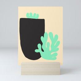 14 |Abstract Shapes | Minimal Shapes| 201116 | Minimal Art Mini Art Print