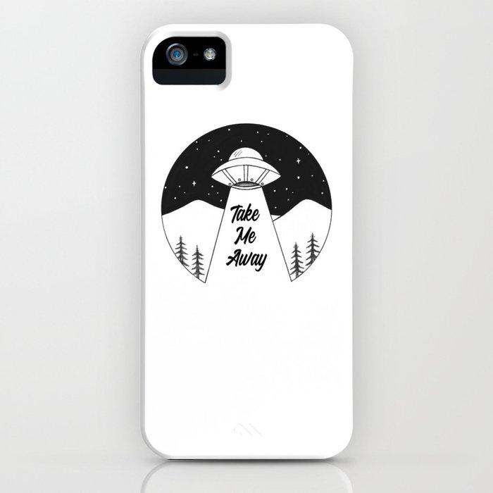 'Take Me Away' UFO iPhone Case
