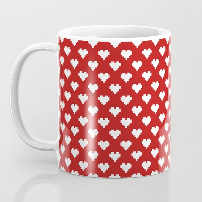 Valentine's Day Pattern Coffee Mug