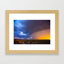 Monsoon Coming Framed Art Print