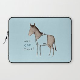 Well Cool Mule! Laptop Sleeve