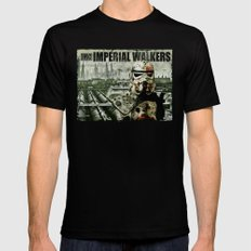 Imperial Walking Dead Black LARGE Mens Fitted Tee