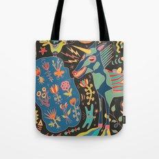 Unicorn Babble Tote Bag