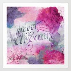 Sweet Dreams I Art Print