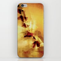 champagne iPhone & iPod Skins featuring Champagne by SensualPatterns