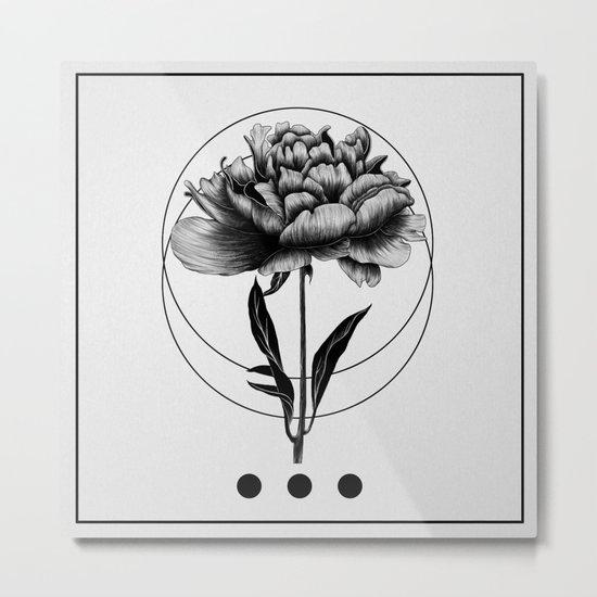 Inked III Metal Print